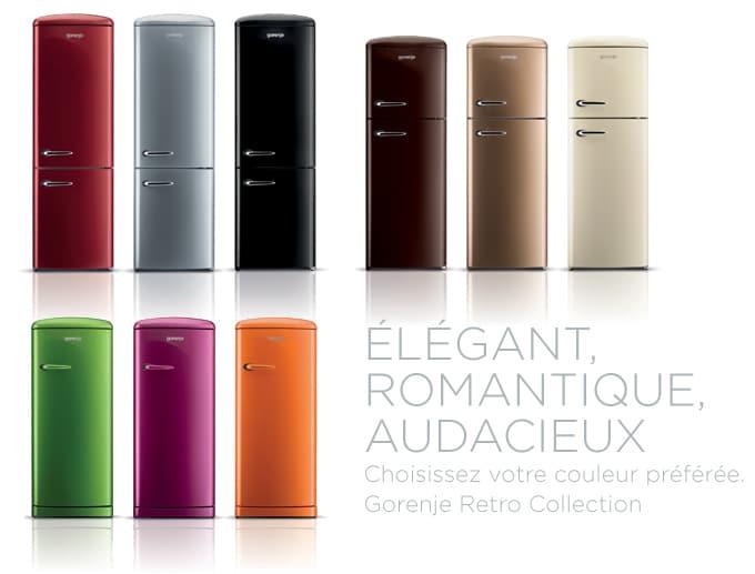 2 marques de frigo design electroguide - Frigo vintage pas cher ...