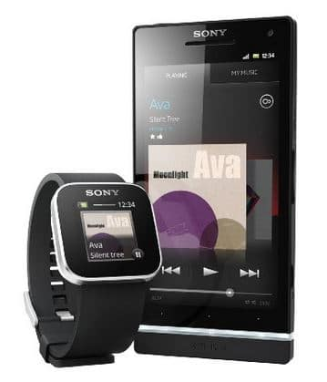 montre sony xperia smartwatch connect e electroguide. Black Bedroom Furniture Sets. Home Design Ideas