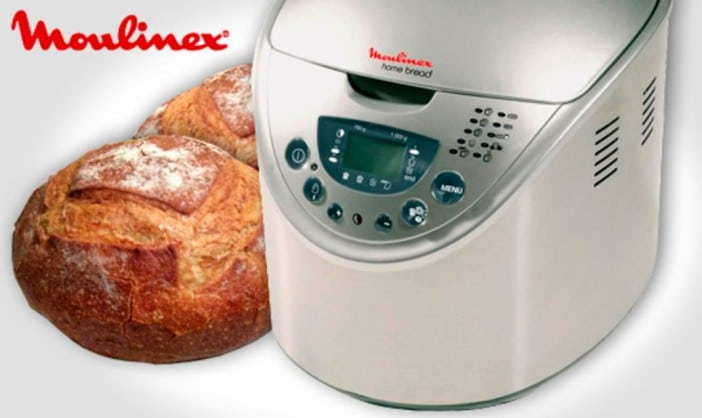 machine pain home bread baguette de moulinex electroguide. Black Bedroom Furniture Sets. Home Design Ideas