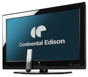Télévision Continental Edison