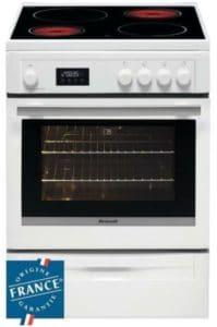 Cuisiniere brandt vitroceramique bcv6650w