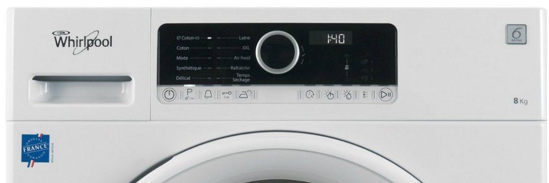 que vaut le s che linge whirlpool hscx80313 electroguide. Black Bedroom Furniture Sets. Home Design Ideas