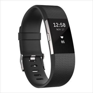 Fitbit Charge 2 Bracelet d'activité et de suivi de la fréquence cardiaque