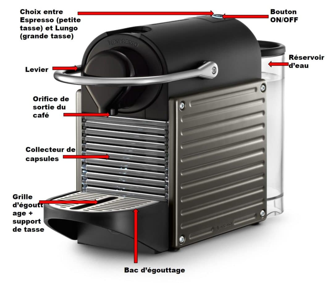 avis cafeti re krups nespresso pixie yy1201fd electroguide. Black Bedroom Furniture Sets. Home Design Ideas