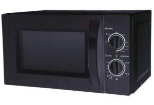 CONTINENTAL-EDISON MO20GRILB Micro-ondes Grill noir - 20L - 700 W - Grill 1000 W - Pose libre