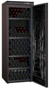 CLIMADIFF CLV254M - Cave à vin de vieillissement - 254 bouteilles - Pose libre - Classe A - L 62 x H 186 cm