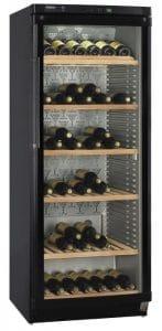 HAIER JC398GA - Cave à vin de vieillissement - 174 bouteilles - Pose libre - Classe A - L 66,5 x H 167 cm