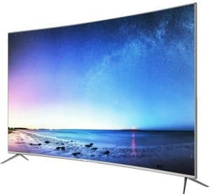 HAIER LE55Q6500U TV LED 4K UHD incurvée 140 cm (55