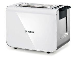 Bosch Styline / TAT8611 Grille-pain Inox et plastique Pour 2 tranches de pain 860 W
