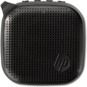 HP (X0N11AA) Mini Haut-Parleur Bluetooth 300 (jusqu'à 8 heures d'écoute, étanche, son stéréo) Noir