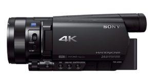 Caméscope semi-pro Sony FDR-AX100