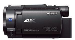 Caméscope Sony FDR-AX33
