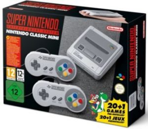 Console rétro Nintendo Super Nintendo Classic Mini