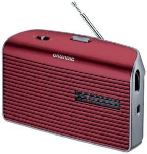 Radio analogique GRUNDIG music 60l rouge