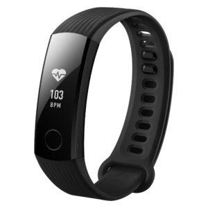 Honor Band 3 - Bracelet Tracker d'activité avec cardio-fréquencemètre - Étanche - Noir
