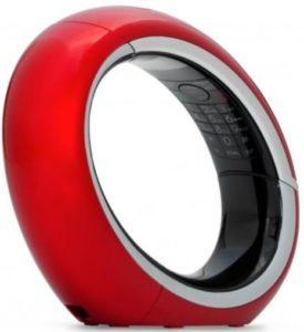 Téléphone fixe AEG Eclipse 15 TAM Red