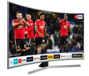 TV LED Samsung UE65NU7655 INCURVE