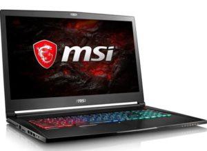 MSI PC Portable Gamer GS73VR 7RF-403XFR - 17'' FHD - RAM 8Go - Core i7-7700HQ - Stockage 512 Go SSD - GeForce GTX 1060